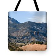 Red Mountain And Pikes Peak Tote Bag