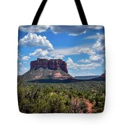 Red Mountain Top Tote Bag