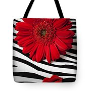 Red Mum And Red Lips Tote Bag
