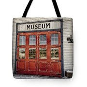 Red Museum Door Tote Bag