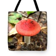 Red Mushroom 2 Tote Bag
