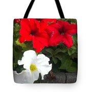 Red N White Tote Bag