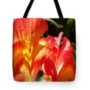 Red N Yellow Flowers 2 Tote Bag