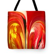 Red N Yellow Flowers 4 Tote Bag