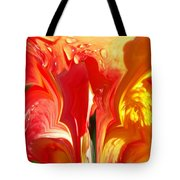 Red N Yellow Flowers 5 Tote Bag