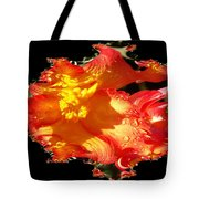 Red N Yellow Flowers Tote Bag