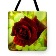 Red Nature Tote Bag