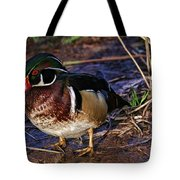Red Nose Duck Tote Bag