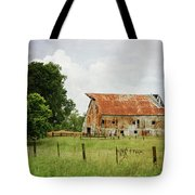 Red Oak Barn Tote Bag