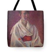 Red Obi Tote Bag