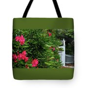 Red Oleander Arbor Tote Bag