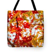 Red On A Tree Tote Bag