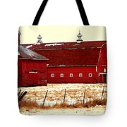 Red One And Two Tote Bag