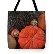 Red Orange Tote Bag