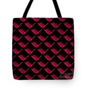 Red Ortho Tote Bag