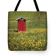Red Outhouse 6 Tote Bag