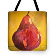 Red Pear Tote Bag