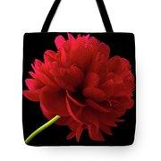 Red Peony  Tote Bag