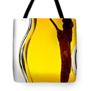 Red Pepper In Olive Oil Tote Bag