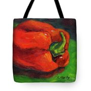 Red Pepper Still Life Tote Bag