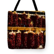 Red Peppers Tote Bag