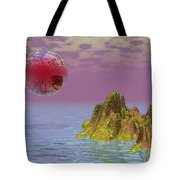 Red Planet Fantasy Tote Bag