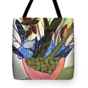 Red Planter Tote Bag