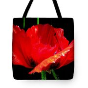 Red Pop Photograph Tote Bag