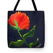 Red Poppie Tote Bag