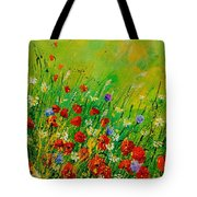 Red Poppies 450708 Tote Bag