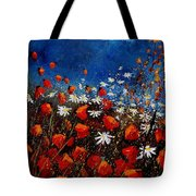 Red Poppies 451108 Tote Bag
