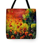 Red Poppies 451130 Tote Bag