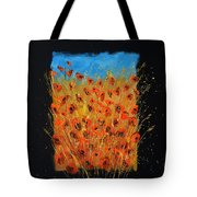 Red Poppies 6771 Tote Bag