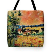 Red Poppies In Gendron Tote Bag