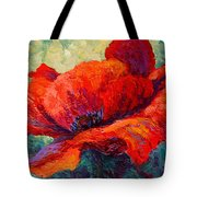 Red Poppy IIi Tote Bag