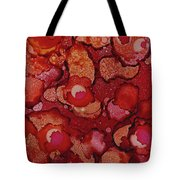 Red Poppy Profusion Tote Bag