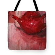 Red Pot Tote Bag