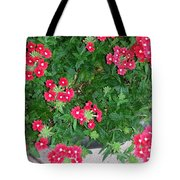 Red Punch Tote Bag