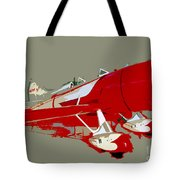 Red Racer Tote Bag