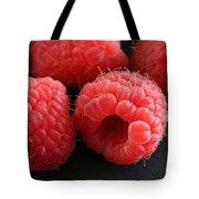 Red Raspberries Tote Bag