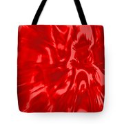 Red, Red Lava Tote Bag