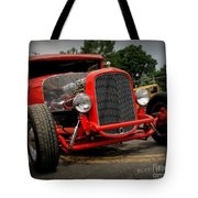 Red Ride 2 Tote Bag