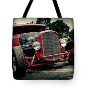 Red Ride Tote Bag