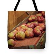 Red Ripe Macintosh Apples Tote Bag