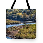 Red River Bend Tote Bag