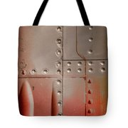 Red Rivets Tote Bag