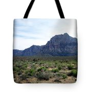 Red Rock Canyon 3 Tote Bag