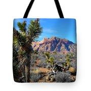 Red Rock Canyon Joshua Tree 2 Tote Bag