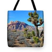 Red Rock Canyon Joshua Tree Tote Bag