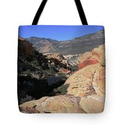 Red Rock Canyon Nv 7 Tote Bag